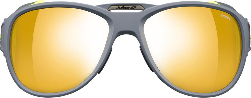 Julbo Expl 2.0 Zebra Sunglasses Matt Gray/Green-Yellow/Brown 2018 Gletscherbrillen ZeDUmFRaN